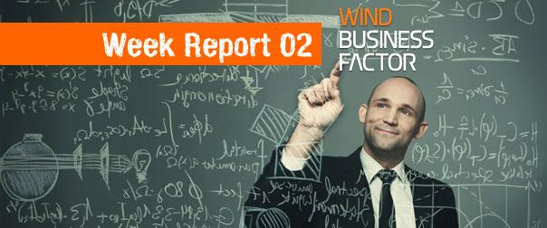 Report: la seconda settimana online di Wind Business Factor
