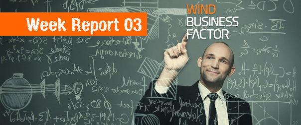 Report: La terza settimana online di Wind Business Factor