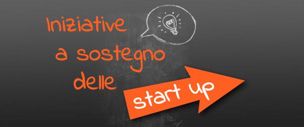 Iniziative a sostegno delle start up
