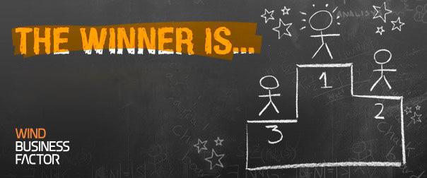 Il primo premio di Racconta il tuo Business Factor va ad eRALOS3
