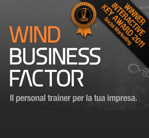 Wind Business Factor vince il Key Award 2011!