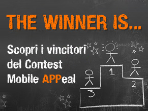I vincitori  del contest Mobile APPeal