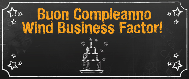 Buon Compleanno Wind Business Factor