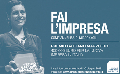 Premio Gaetano Marzotto 2012: 450mila euro agli imprenditori di domani