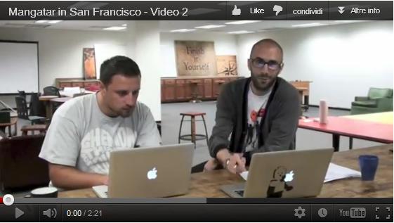 Mangatar in Silicon Valley con la MtB Startup School