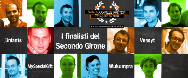 WBF Startup Competition 2013 2° Girone: le startup finaliste