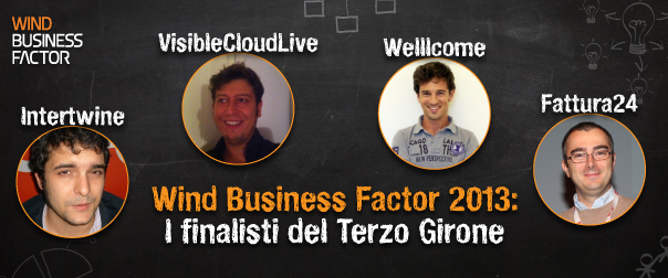WBF Startup Competition 2013 - 3° Girone: le startup finaliste