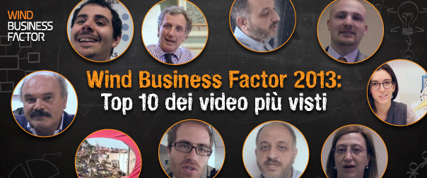 WBF 2013: Top 10 dei video più visti