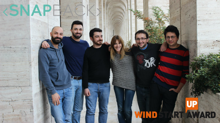 La storia di Snapback, startup finalista del Wind Startup Award