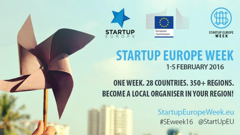 Febbraio inizia con la Startup Europe Week
