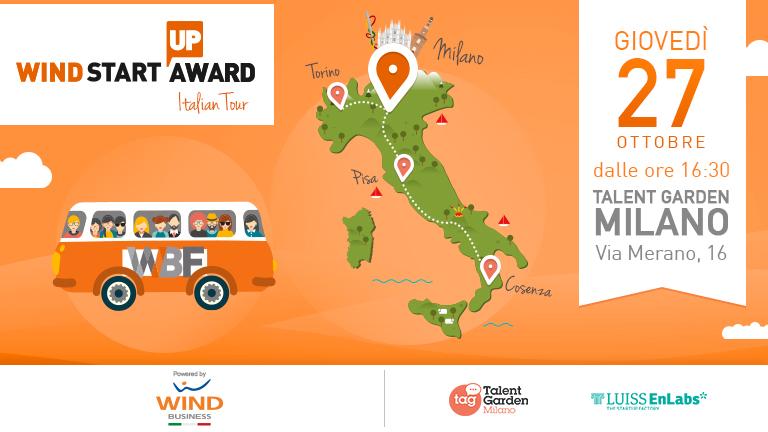 Il roadshow per startup parte da Milano