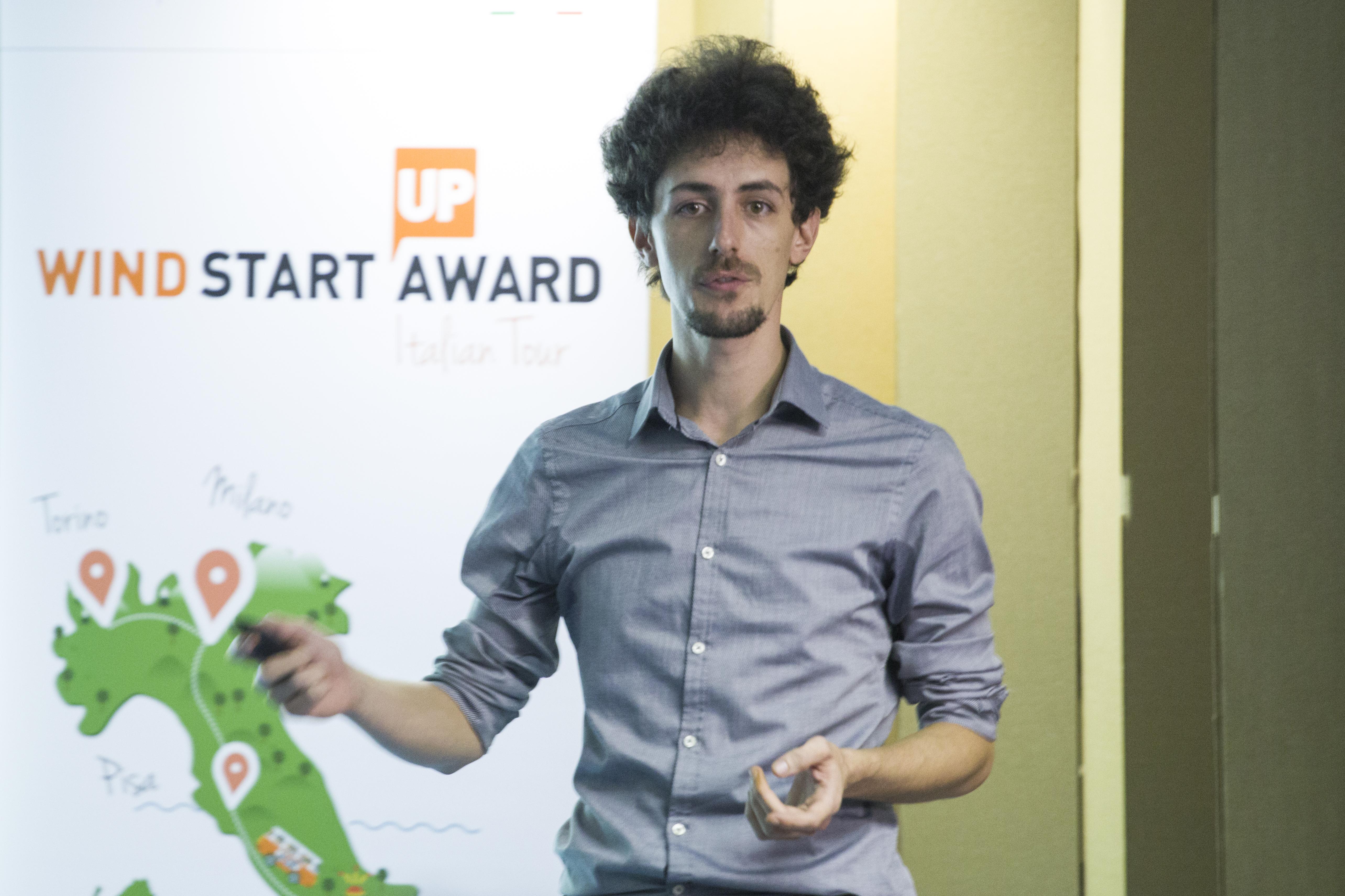 Il pitich di ThePressMatch al Wind Startup Award Italian Tour Torino