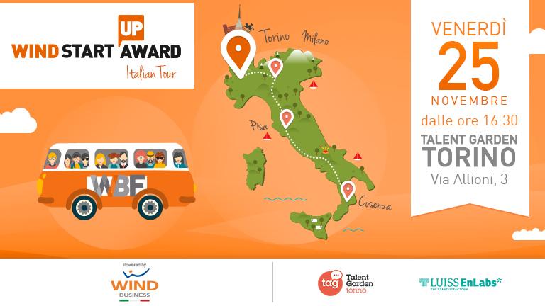 Wind Startup Award | Italian Tour: next stop Torino