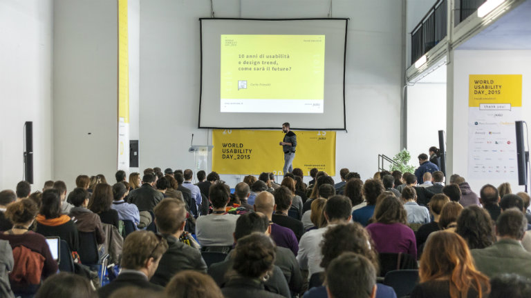 Il design può salvare il mondo? Lo scopriremo al World Usability Day Rome 2016