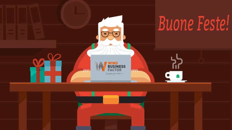 Buone Feste da Wind Business Factor!