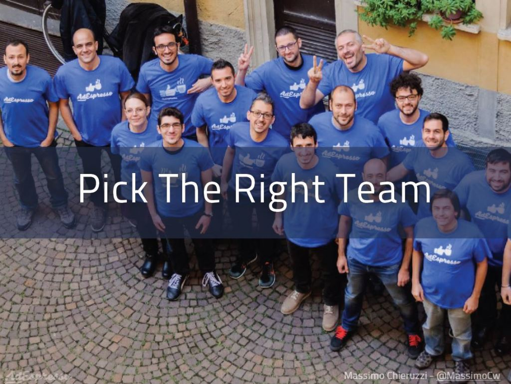 Startup: l'importanza di avere un super team