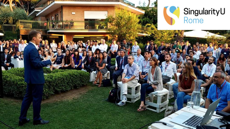 Inaugurazione SingularityU Rome - Luca La Mesa