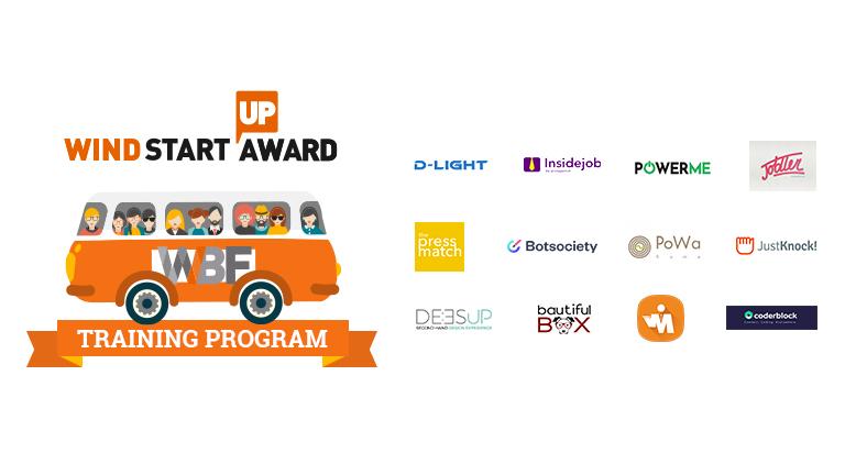 Wind Startup Award: 12 progetti che entrano nel training