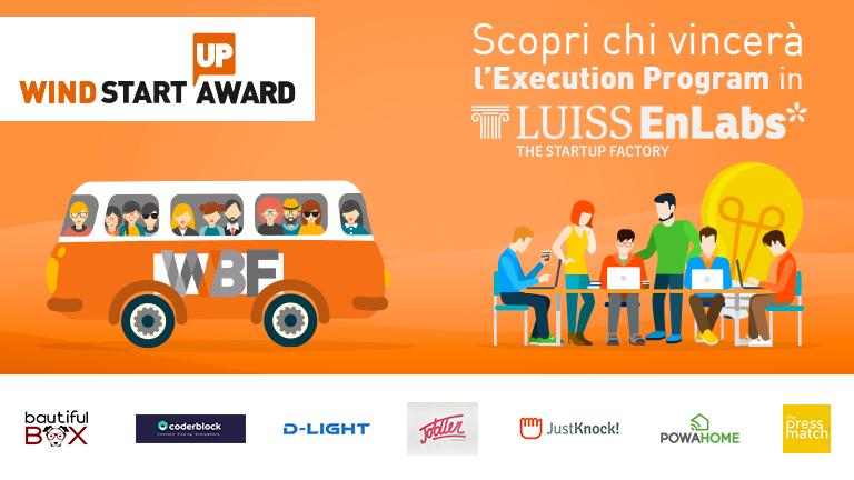 Wind Startup Award: le 7 startup che arrivano in finale!