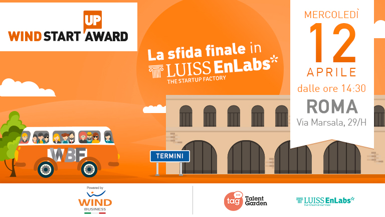 Wind Startup Award: la Finale in LUISS ENLABS