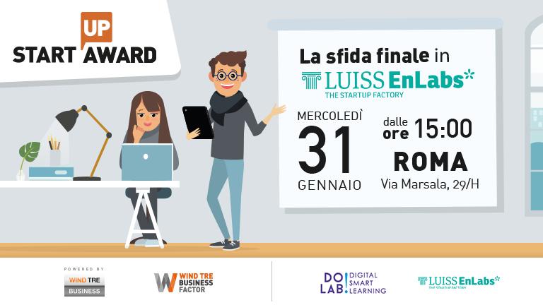 Startup Award: siamo pronti per l'Investor Day!