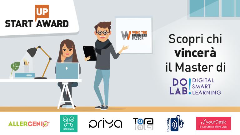 Startup Award: le 6 startup che passano in finale